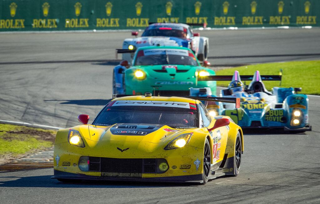 Corvette C7.R po licznych triumfach na sprzedaż za niecały milion dolarów