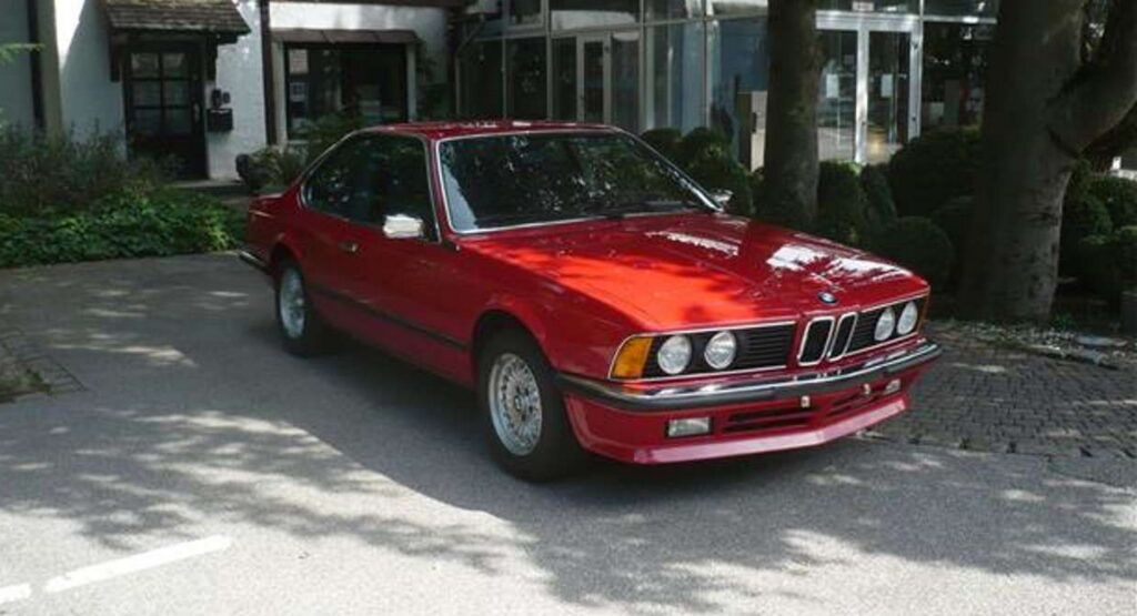 BMW 635 CSi z 1985 roku wystawione na sprzedaż za ponad 500 000 zł!