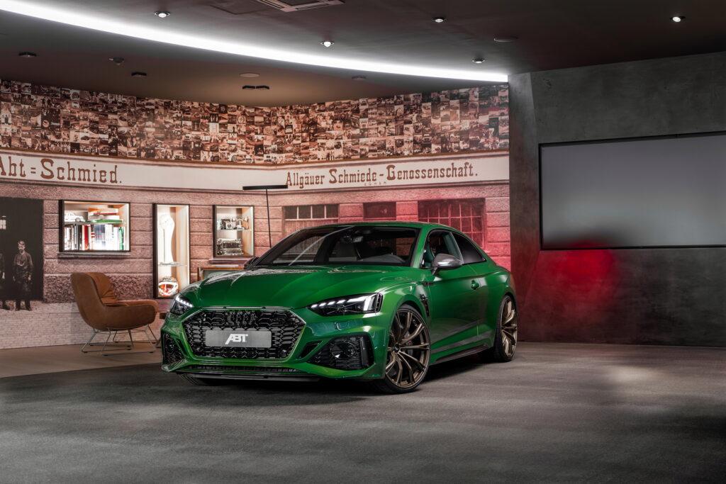 Audi RS5 od ABT przyspiesza do setki w mniej niż 3,6 sekundy