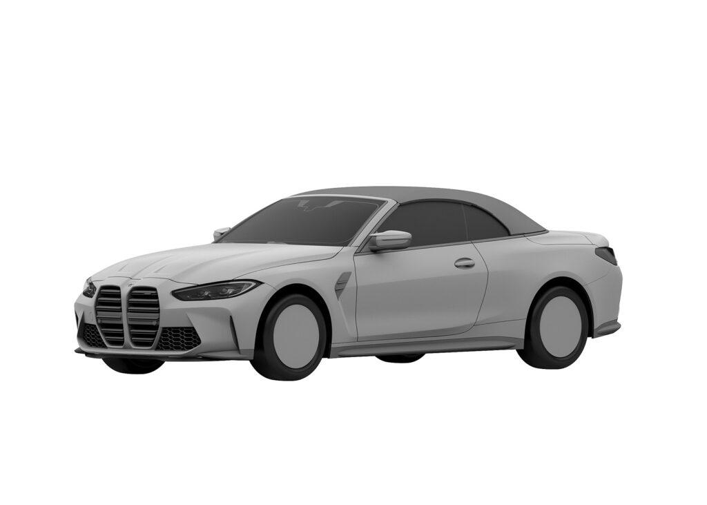 BMW M4 w wersji Cabrio pojawiło się na szkicach patentowych