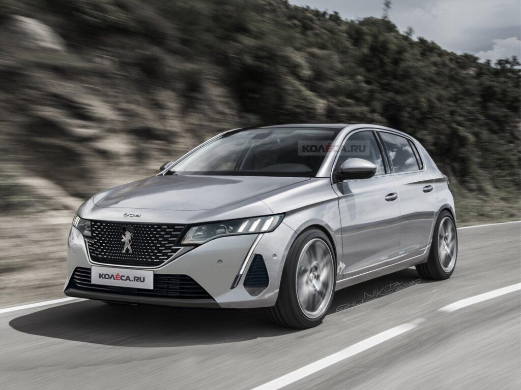 Peugeot 308 2022 – tak prawdopodobnie będzie wyglądać nowa generacja