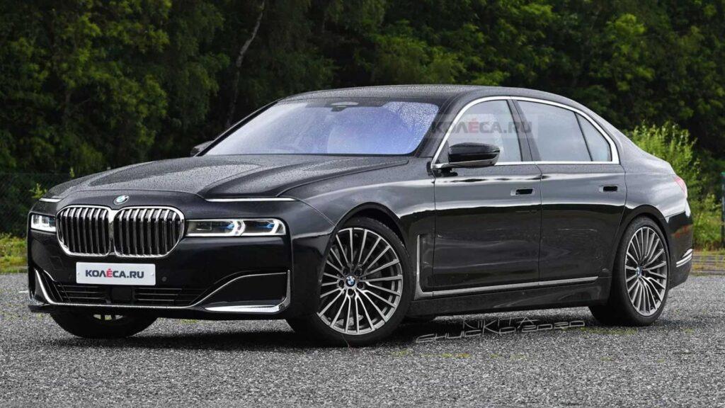 Nowe BMW serii 7 – wrócił mniejszy grill, ale reszta wygląda gorzej