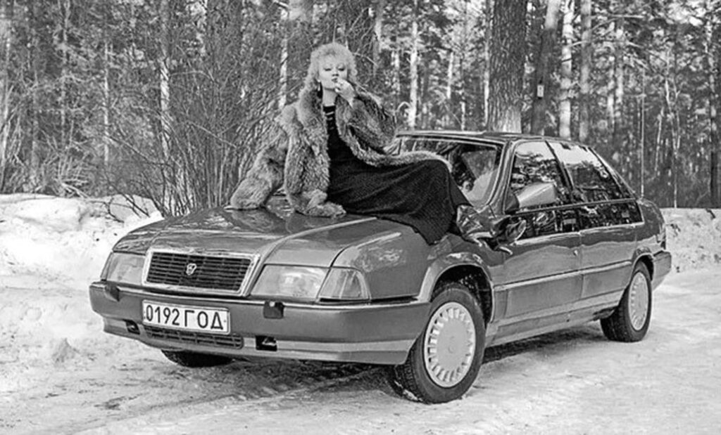GAZ 3105 Wołga – Nowy Car w modnym fraku