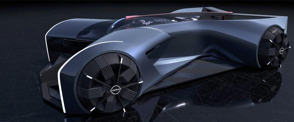 Nissan GT-R(x) 2050 – auto, w którym kierowca leży na brzuchu
