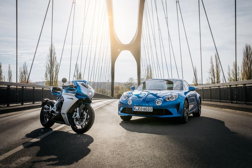 Marka Alpine we współpracy z MV Agusta stworzyła swój motocykl