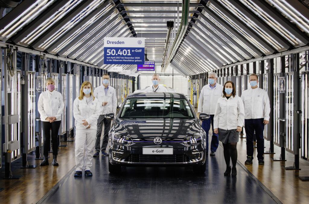Volkswagen e-Golf – ostatni model opuścił dziś fabrykę