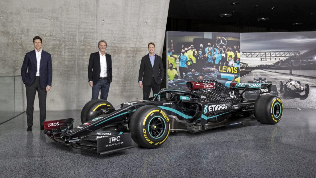 Zmiany w Mercedes F1 Team – Daimler, Wolff i Ineos dzielą się udziałami