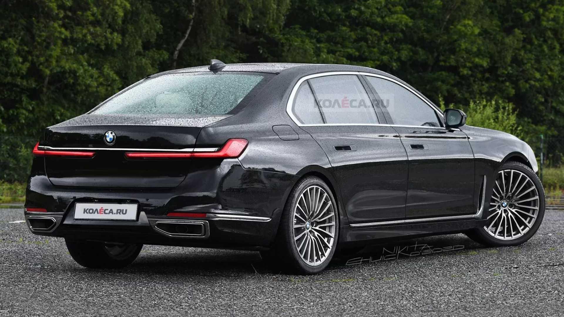 BMW serii 7 2023