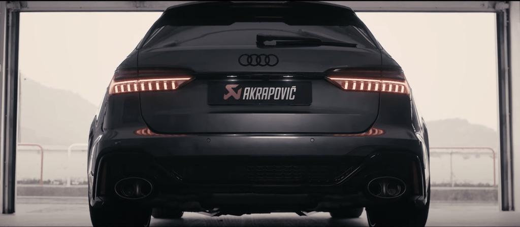 Akrapovic zaprezentował swój wydech do Audi RS6 i atakuje AMG