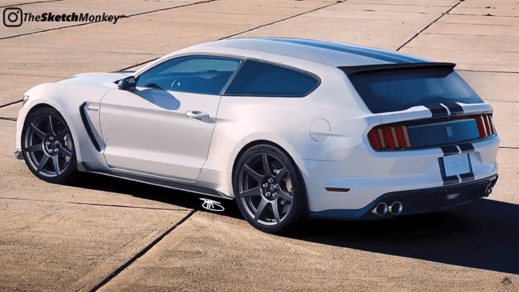 Mustang Shelby GT350 Shooting Brake – szalone kombi z Ameryki