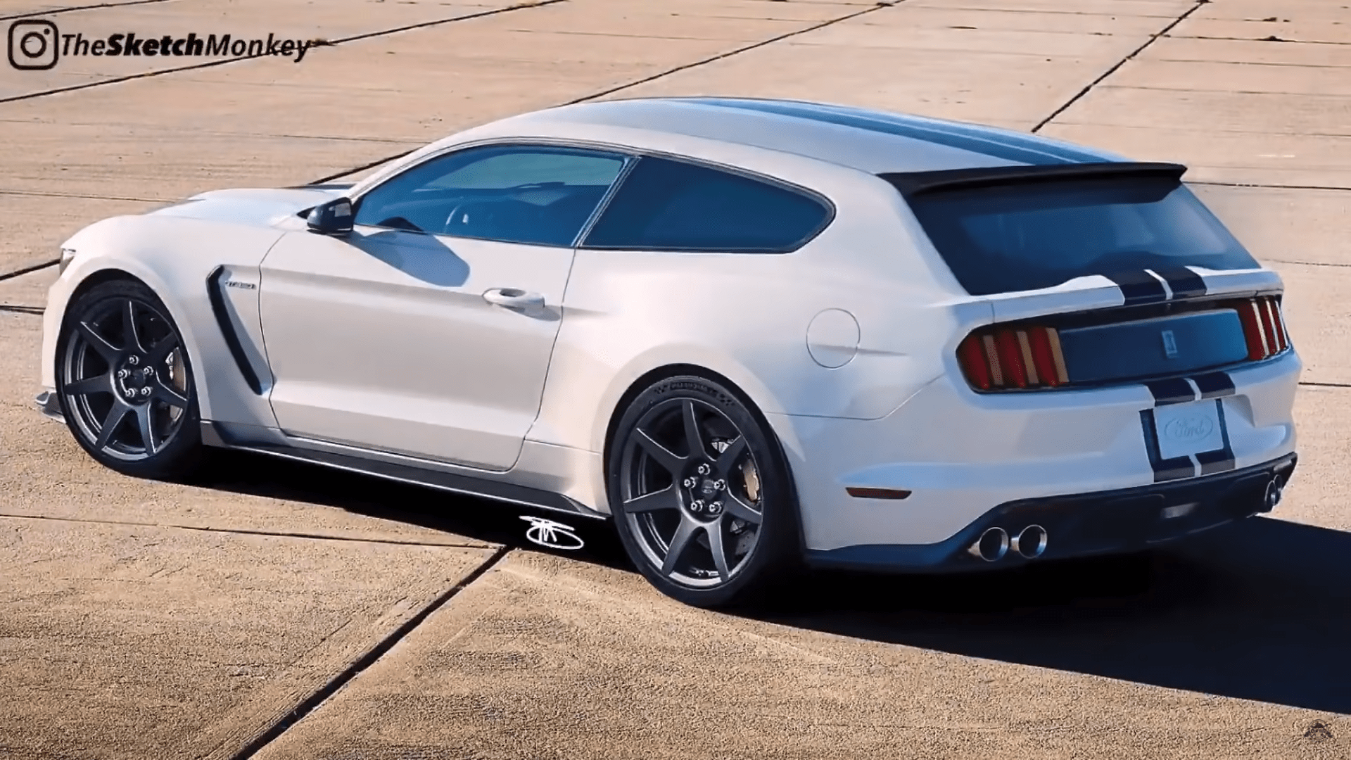 Ford Mustang Shelby GT350 Shooting Brake