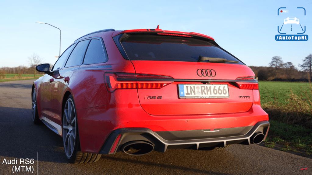 Audi RS6 o mocy 1001 KM przyspiesza do setki w 2.79 sekundy!