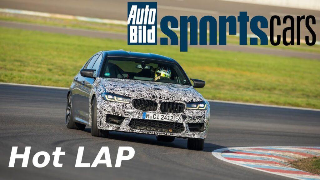 Kolejne popisy BMW M5 CS – tym razem szybsze od Porsche 911 GT3 na Lausitzring