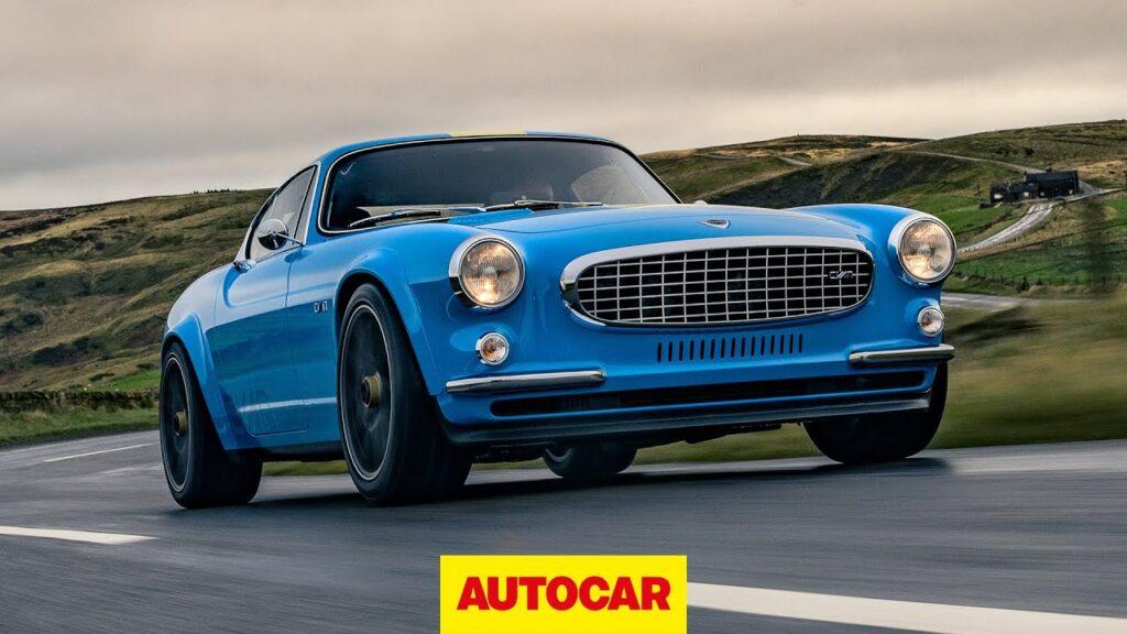 Volvo P1800 Cyan Racing – ponad 400 KM, 990 kg wagi i zapach legendy
