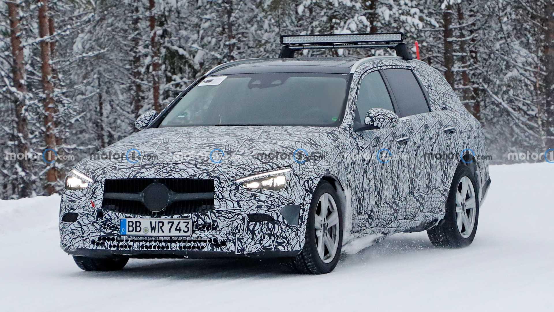 Nowy Mercedes klasy C kombi