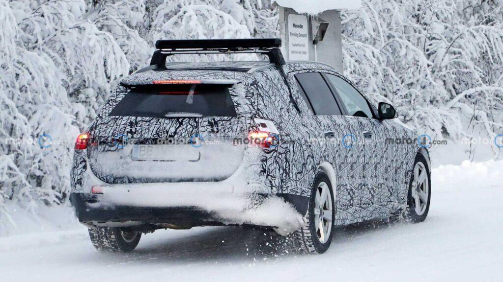 Nowy Mercedes klasy C kombi właśnie jest testowany w Szwecji