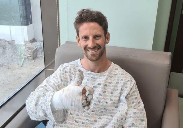 """Grosjean szczerze o wypadku: ,,To dla mnie jak drugie narodziny"""""""