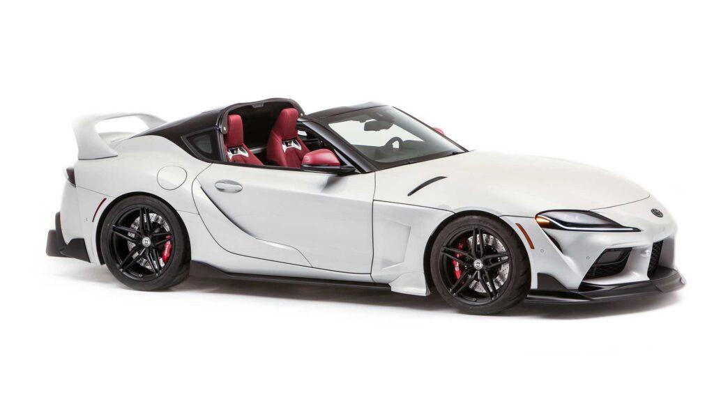 Toyota pokazała nową Suprę w wersji Targa – wygląda obłędnie!