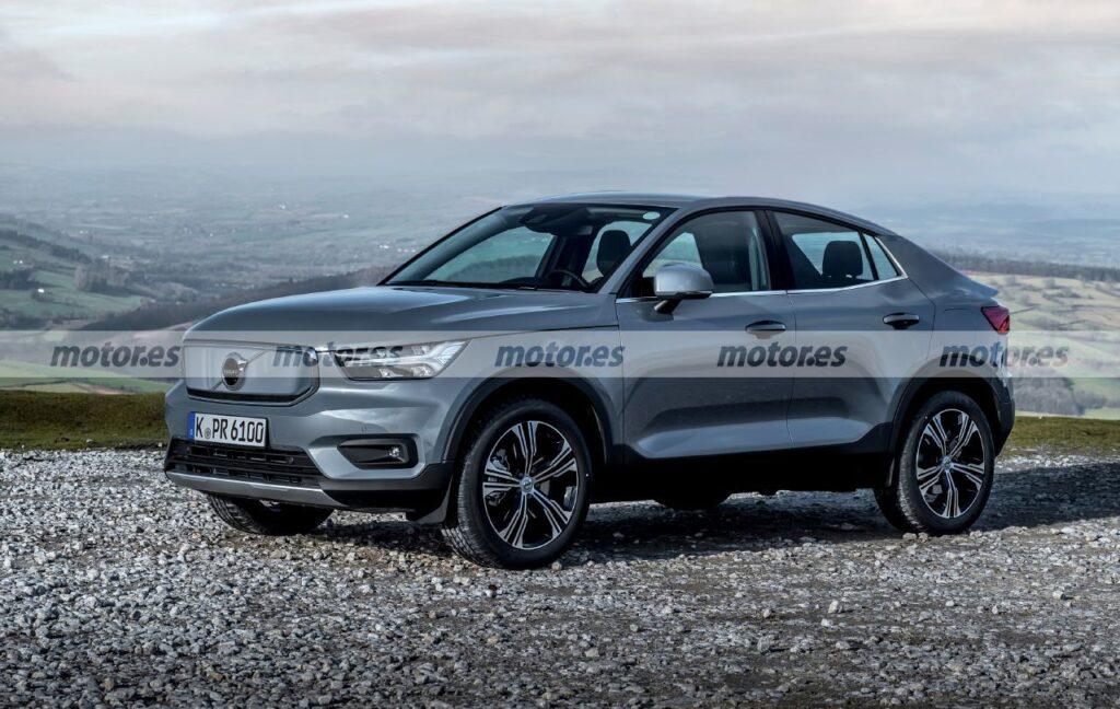 Volvo XC40 Coupe – premiera niszowego elektryka coraz bliżej