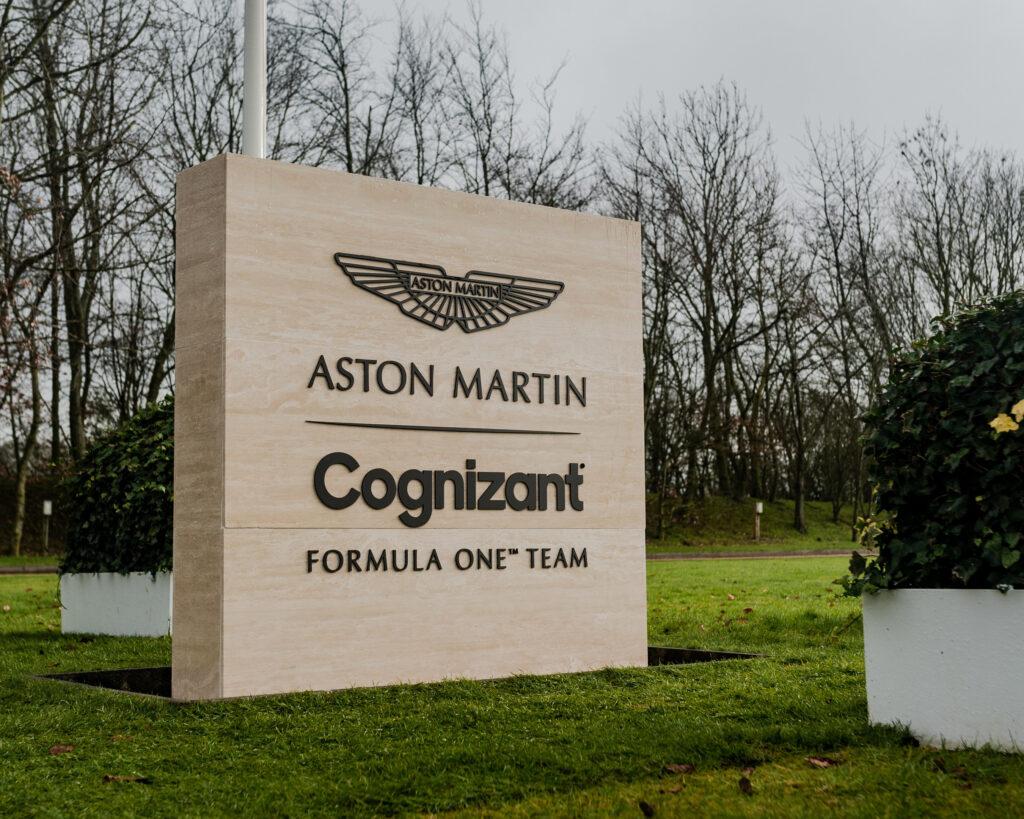 Cognizant sponsorem tytularnym Aston Martin. Koniec różu na bolidach