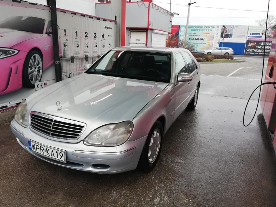 Mercedes W140 W220