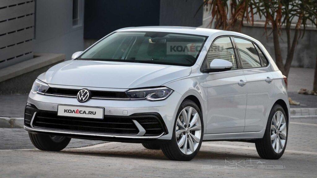 Volkswagen Polo 2021 facelifting – mini Golf MK8 do miasta i nie tylko