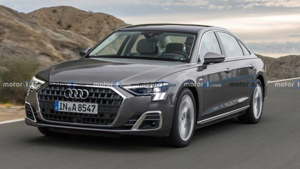 Audi A8 2021 – facelifting topowej limuzyny z Ingolstadt już wkrótce