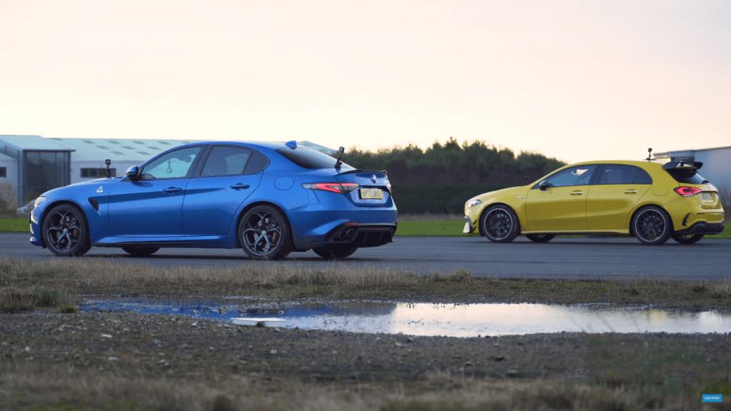 Alfa Romeo Giulia QV vs Mercedes-AMG A45s – hothatch czy sedan?
