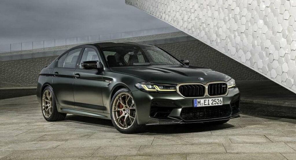 BMW M5 CS już jest! Oficjalne zdjęcia wyciekły do Internetu