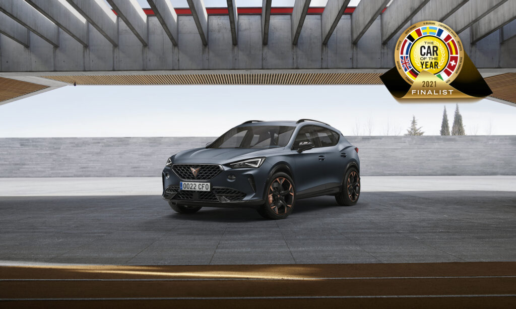 CUPRA Formentor – 1 z 7 aut nominowanych do Car of the Year 2021
