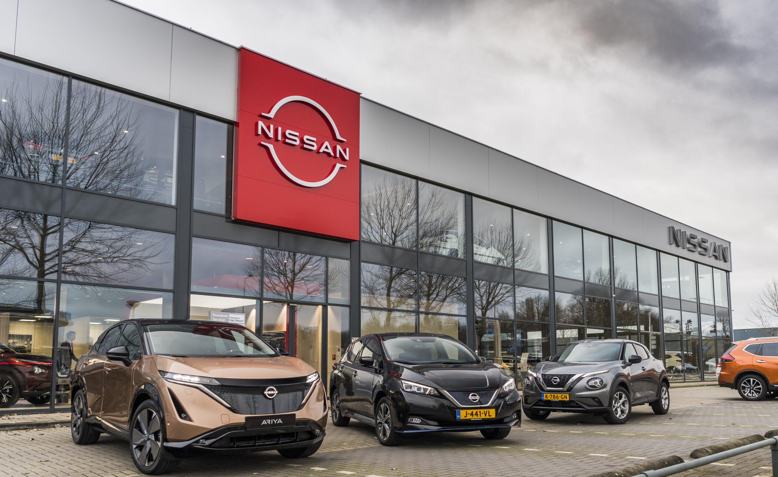 Salon Nissana Van Mossel w Amsterdamie