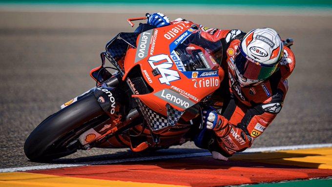 Andrea Dovizioso miał duży wkład w powrót Ducati na szczyt