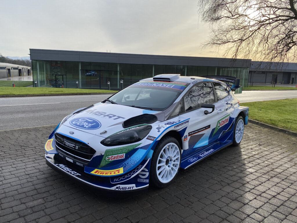 WRC: M-Sport gotowy do startu w Monte Carlo 2021