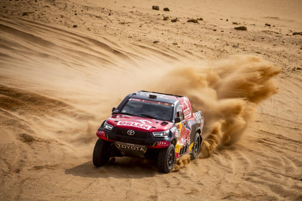 Przygoński piąty na 7. etapie Rajdu Dakar, Domżała nadal liderem SSV