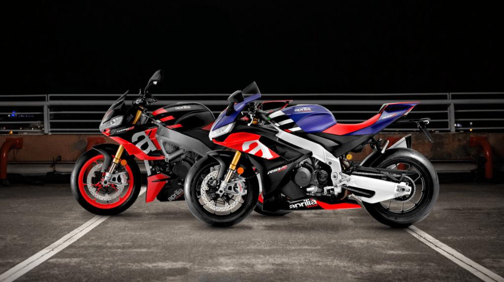 Aprilia zaprezentowała nowe modele RSV4 i Tuono V4 na rok 2021