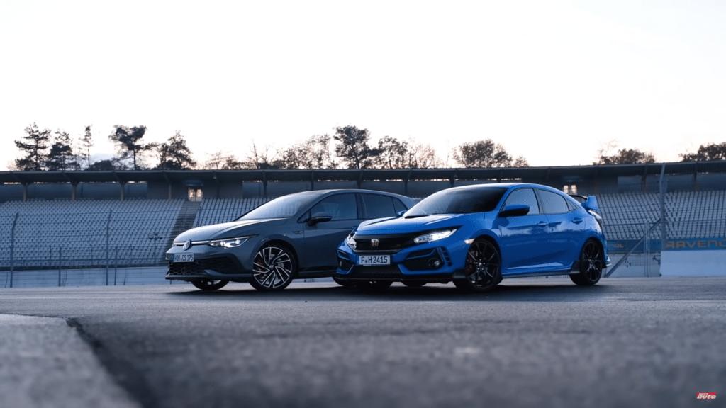 Volkswagen Golf GTI Clubsport vs Honda Civic Type R na Hockenheim – kto okaże się lepszy?