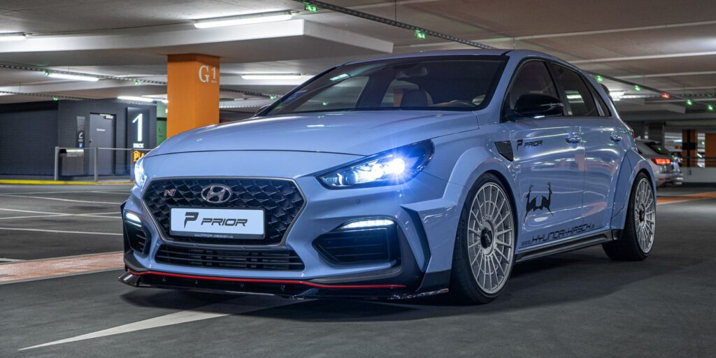 Hyundai i30 N od Prior Design niczym marzenie każdego fana rajdów