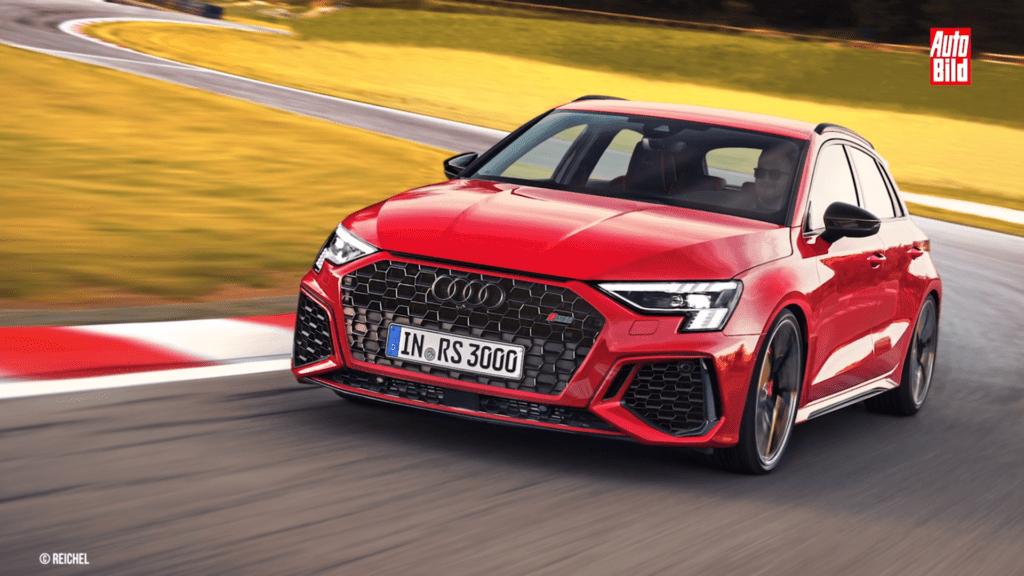 Audi RS 3 2022 – pozostanie silnik 2.5 TFSI, a moc wzrośnie do 450 KM