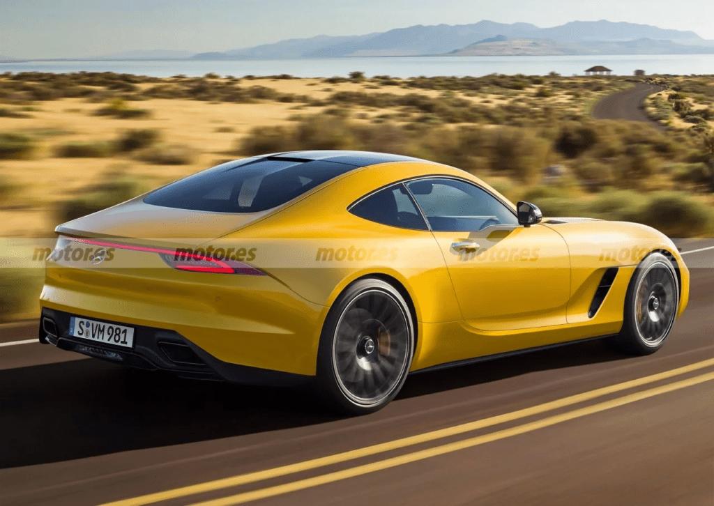 Nowy Mercedes-AMG GT – debiut jako Coupe już w 2022 roku