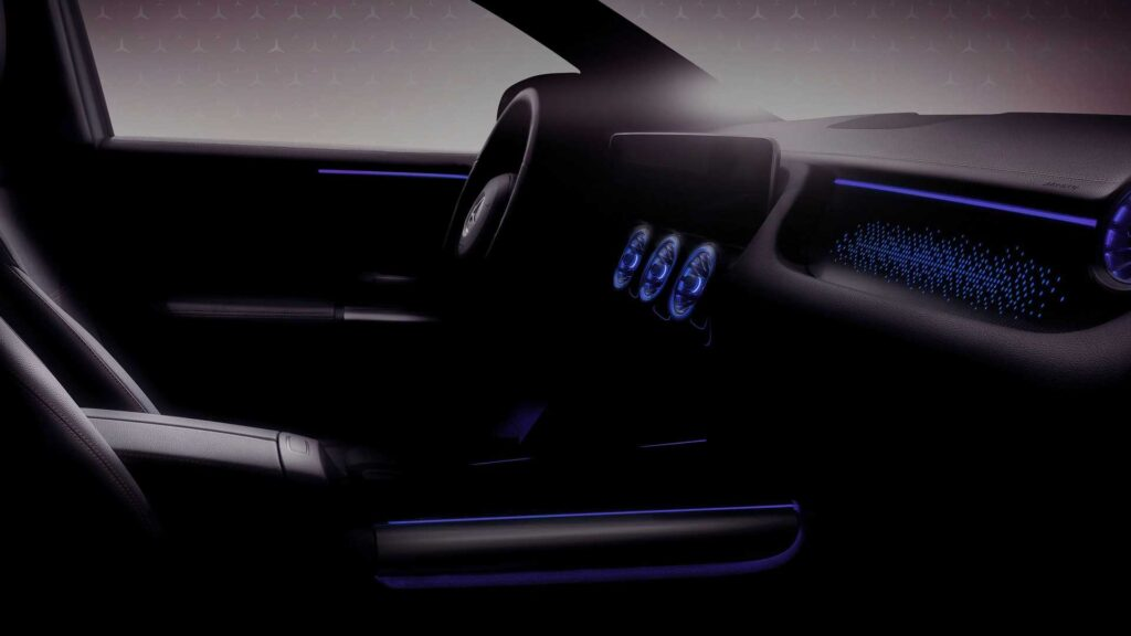 Mercedes EQA w oficjalnym teaserze – 272 KM i ponad 400 zasięgu