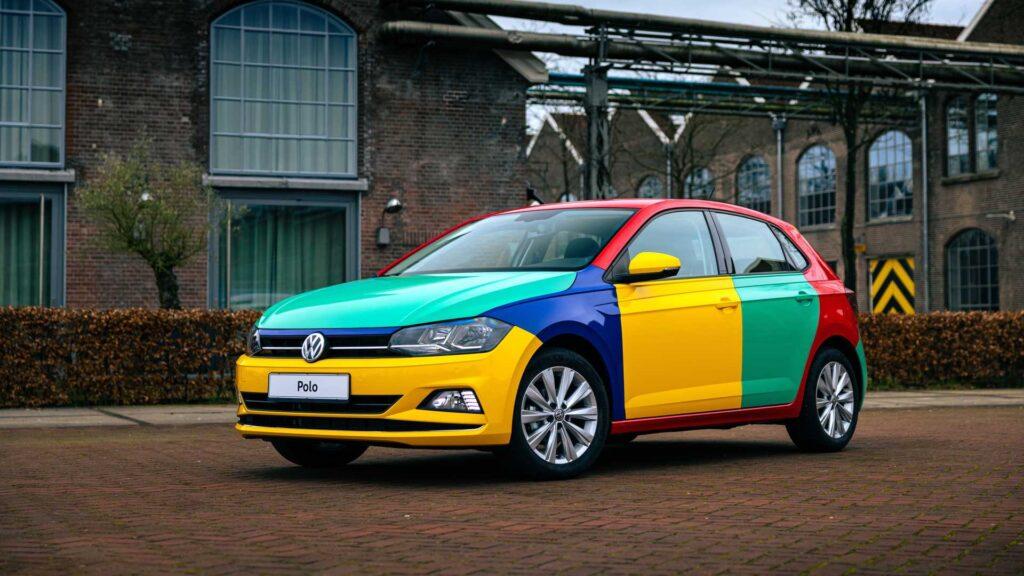 Volkswagen Polo Harlequin – kultowe malowanie powraca na Polo