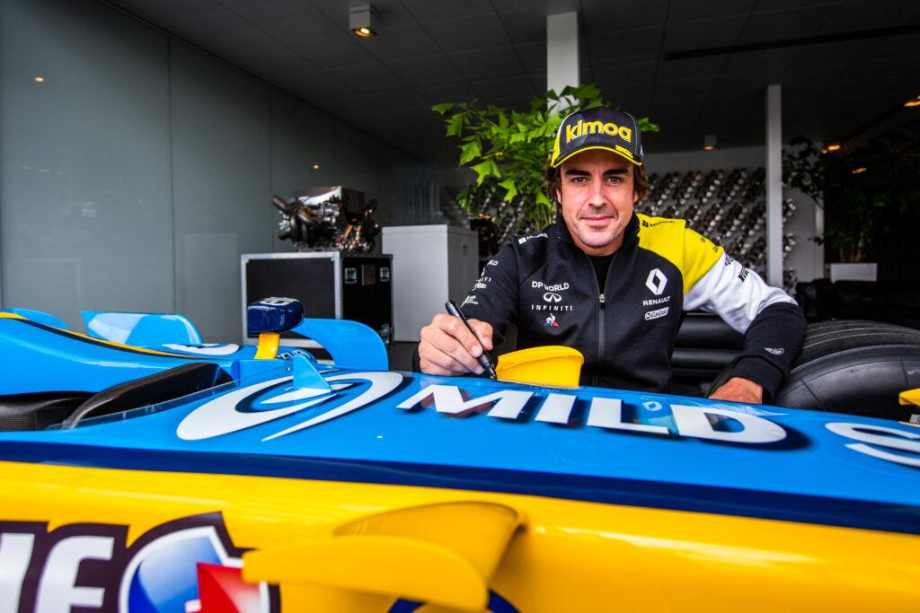 Fernando Alonso przeszedł operację złamanej szczęki