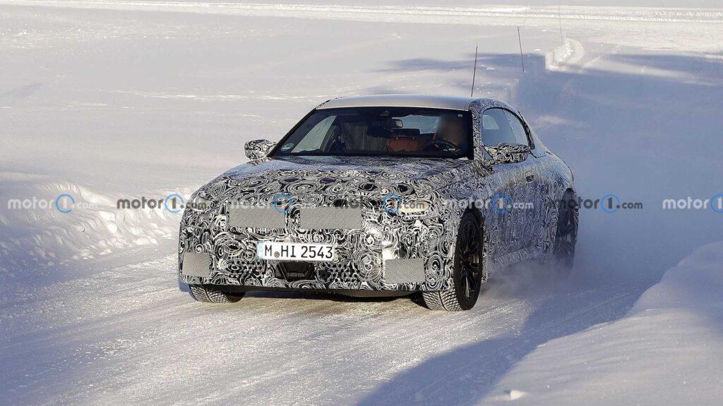 Zakamuflowane, nowe BMW M2 zauważone podczas testów