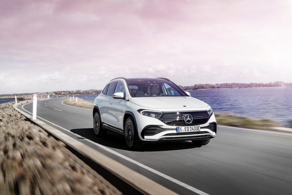 Cztery elektryczne Mercedesy otrzymają wersję AMG