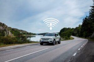 Volvo XC40 Recharge otrzymuje aktualizacje systemu online