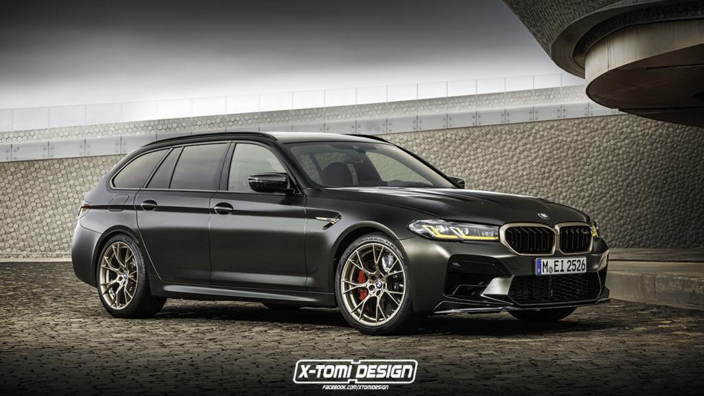 BMW M5 CS w wersji kombi, czyli szalone rodzinne auto, jako rywal Audi RS6