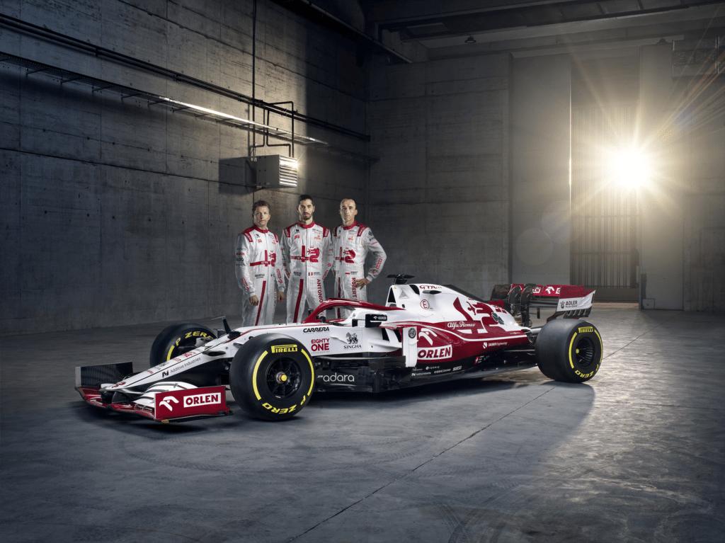 Alfa Romeo Racing ORLEN ujawniła bolid na sezon 2021!