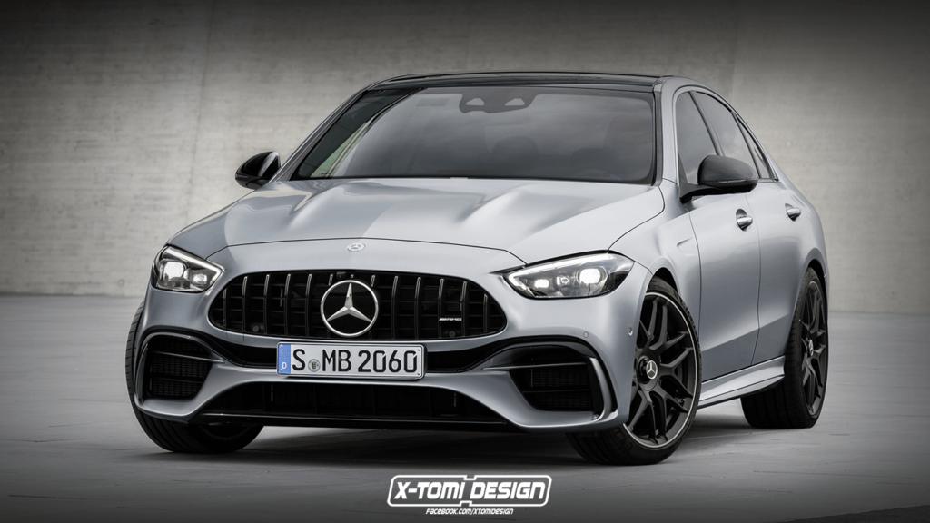 Mercedes C63 nowej generacji będzie hybrydą o mocy 550 koni i masie dwóch ton