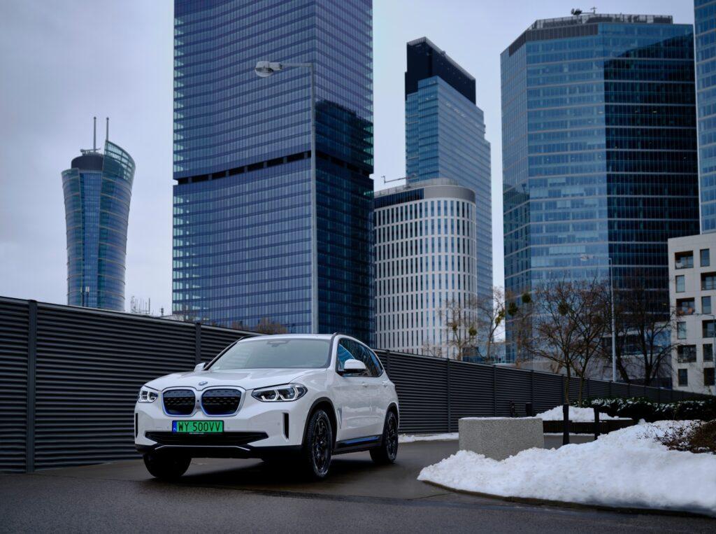 Nowe BMW iX3 już w Warszawie – nowa era elektryfikacji nadciąga