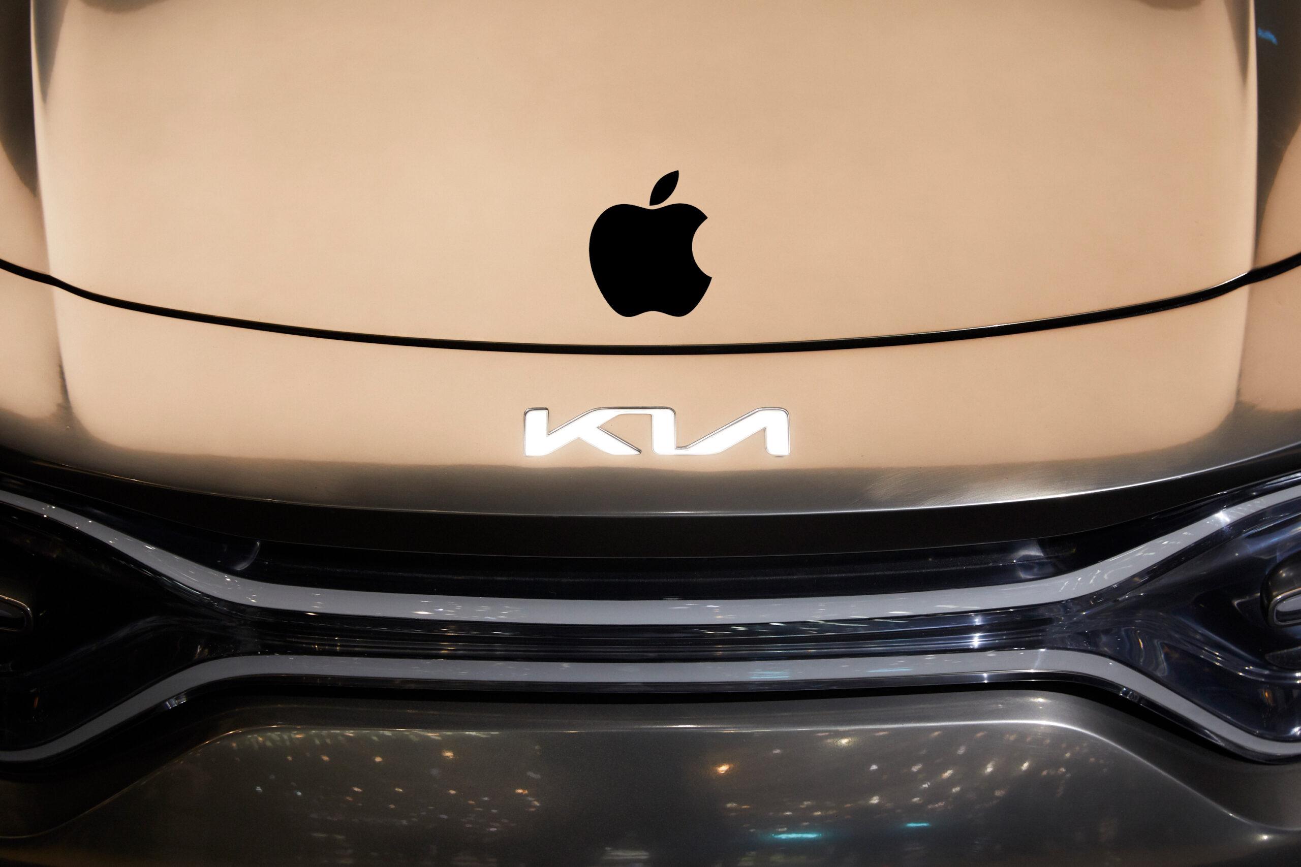 Apple Kia car
